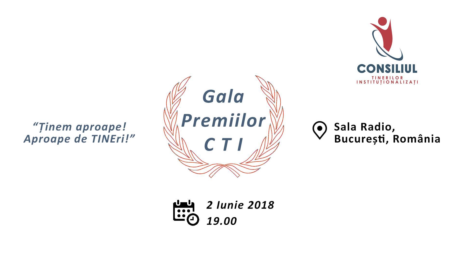 Afis Gala Premiilor CTI