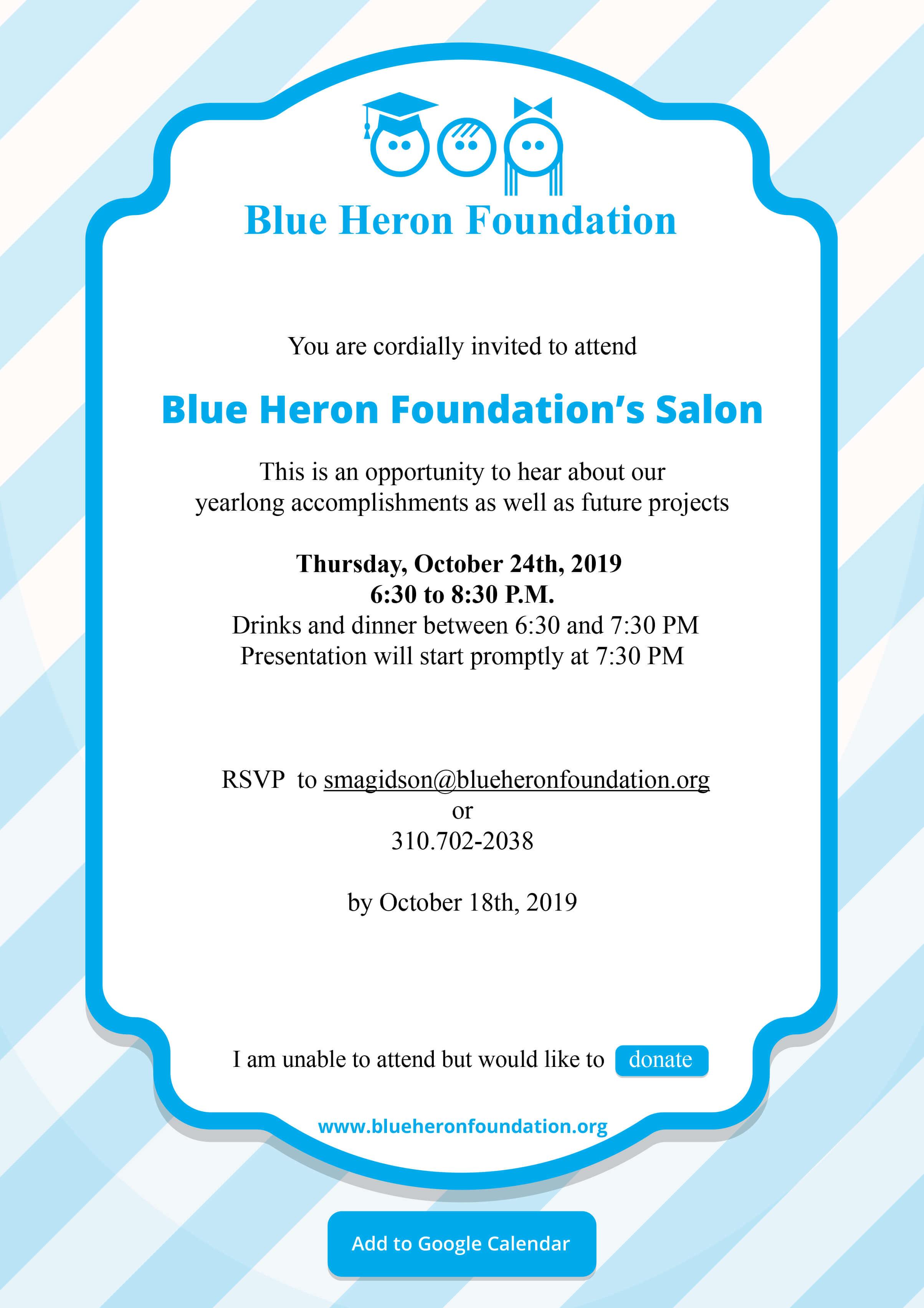 Oct 24th 2019 BH salon